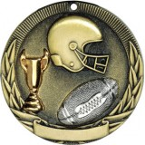 Tri-Colored Medal - Football