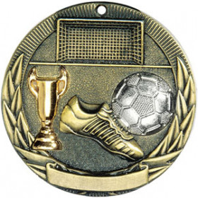 Tri-Colored Medal - Soccer