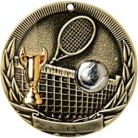 Tri-Colored Medal - Tennis