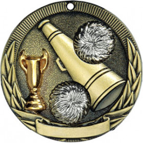 Tri-Colored Medal - Cheer