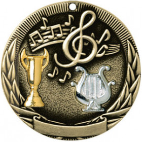 Tri-Colored Medal - Music
