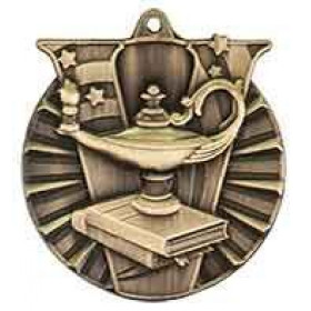 Victory Medal - Lamp of Knowledge