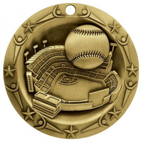 World Class Medal - Baseball