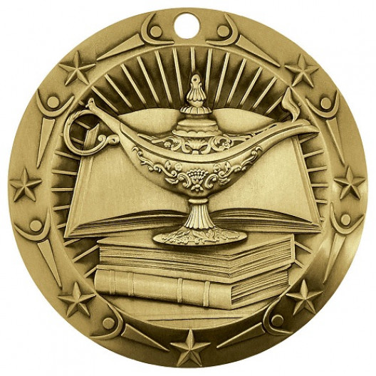 World Class Medal - Lamp of Knowledge