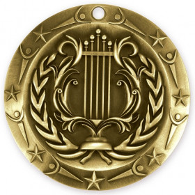 World Class Medal - Music