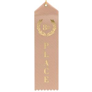 8th Place Ribbon